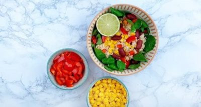 safardia mexicaanse coucous salade