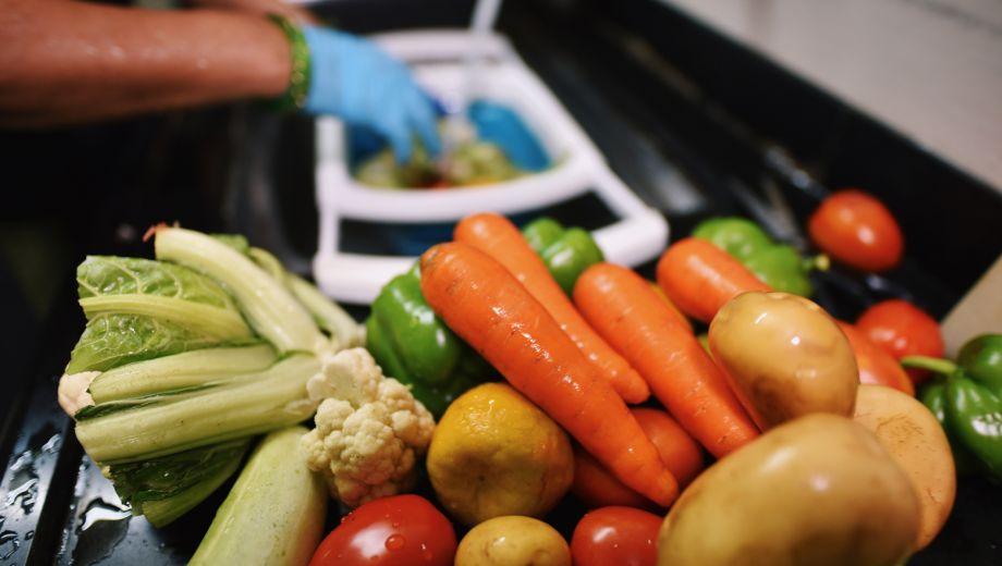 safardia post groente afspoelen