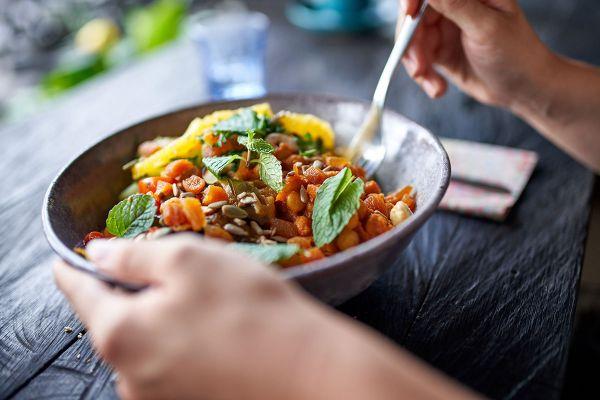safardia post eten volgens vegan schijf